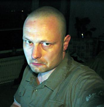 Christiaan is baldy